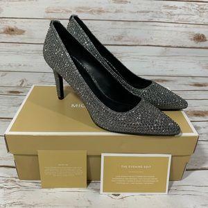 🔥🆕Michael Kors Dorothy Flex Pump Glitter Size 9